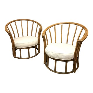 Heywood Wakefield Ashcraft Chairs- A Pair For Sale
