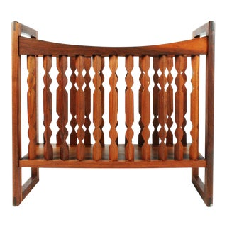 "Drexel Wooden ""Crib"" Magazine Stand For Sale"