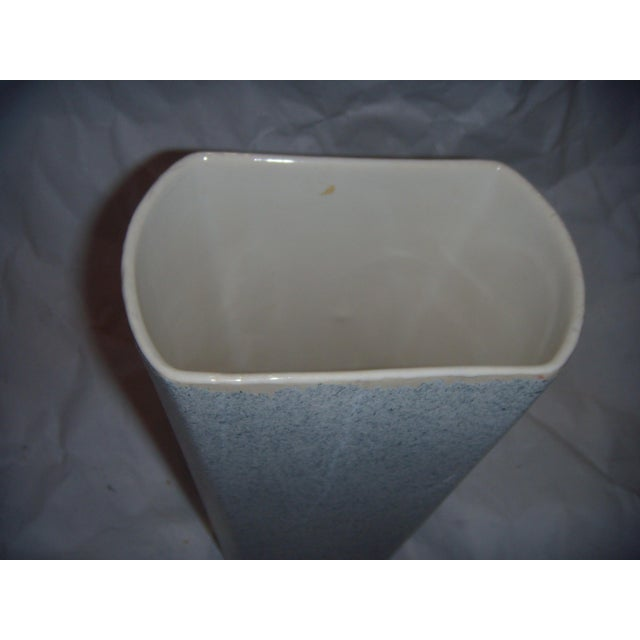 1950s Mid-Century Shaunee USA Pottery Vase For Sale - Image 5 of 6