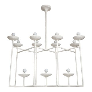 Plaster Fixture in the Manner of Giacometti For Sale
