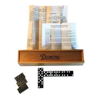 Vintage Domino Set For Sale