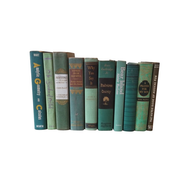 Green Distressed Books - Set of 10 - Image 2 of 4