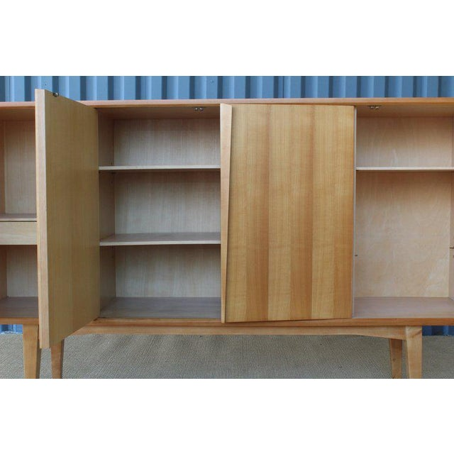 Maple Highboard Credenza, Germany, 1960s For Sale In Los Angeles - Image 6 of 13