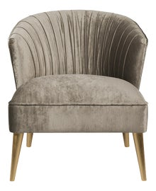 Image of Gold Leaf Accent Chairs