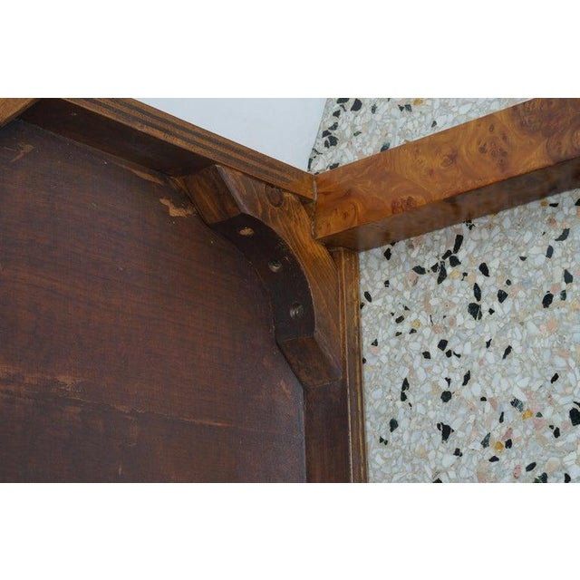 Brown Mid-Century Modern Milo Baughman Burlwood Console Table For Sale - Image 8 of 10