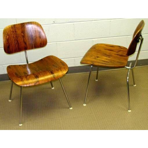 Eames DCM's Rosewood For Sale In Philadelphia - Image 6 of 7