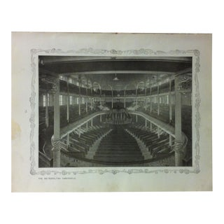 """1906 """"The Metropolitan Tabernacle"""" Famous View of London Print For Sale"""