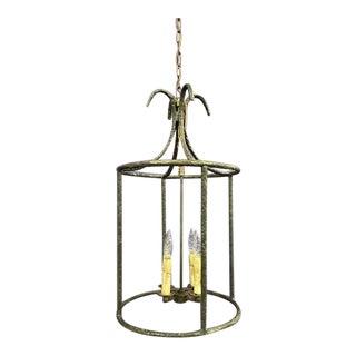 1930s Giacometti Style Bronze Lantern For Sale