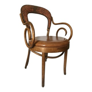 Vintage Shelby Williams Bentwood Chair For Sale