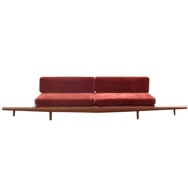 Adrian Pearsall-Style Platform Sofa - Image 1 of 11