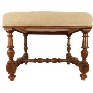 Late 19th Century Vintage French Bench For Sale