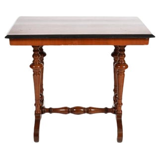19th Century Swedish Rectangular Occasional Walnut Table, Circa 1880 For Sale
