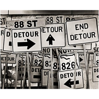 """Detours"" Original Photography by Miami-Based Artist Jeffrey Glasser For Sale"