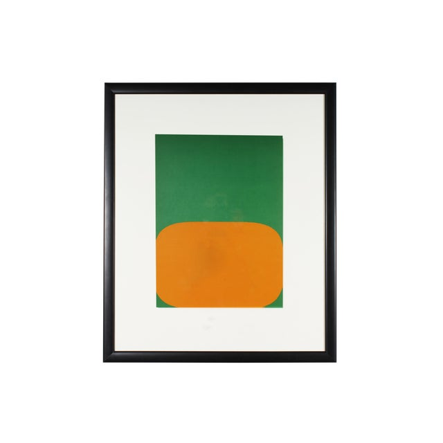"1964 Ellsworth Kelly Lithograph From ""Derriere Le Miroir,"" No. 164 For Sale"