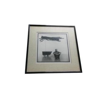 1977 Vintage Robert Rauschenberg Jack Mitchell Photograph For Sale