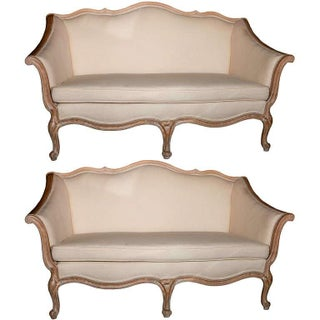 Louis XV Style Canapés - A Pair