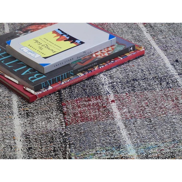 Islamic Cotton and Goat Hair Kilim with Subtle Color For Sale - Image 3 of 9