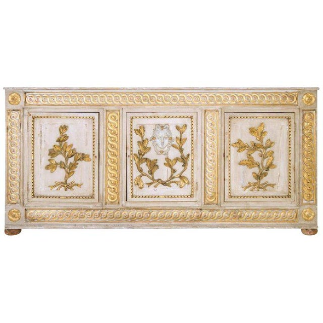 Late 18th Century 18th Century Italian Neoclassical Sideboard Cabinet For Sale - Image 5 of 5