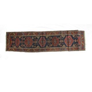 Leon Banilivi Antique Serapi - 3′1″ × 15′10″ For Sale