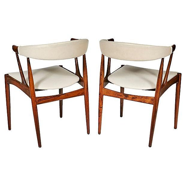 Danish Rosewood & Leather Dining Chairs - Image 6 of 12