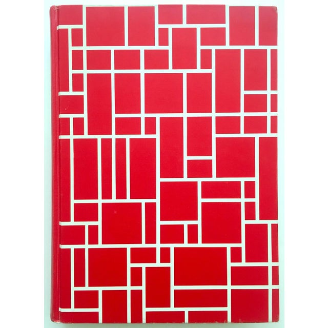 """"""" Piet Mondrian - Life and Work """" Rare Vintage 1956 1st Edtn Collector's Iconic Large Volume Lithograph Print Modernist Art Book For Sale - Image 13 of 13"""