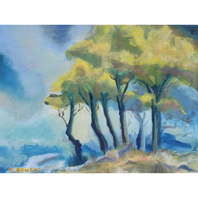 Trees in the Mist Landscape - Image 1 of 3
