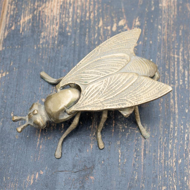 Vintage Brass Bee Ashtray - Image 2 of 4