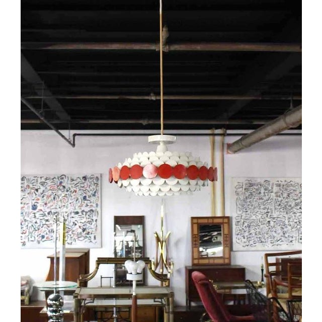 Mid-Century Light Fixture For Sale In New York - Image 6 of 8
