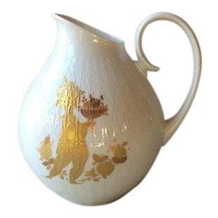Mid-Century Bjorn Wiinblad-Rosenthal Porcelain Pitcher