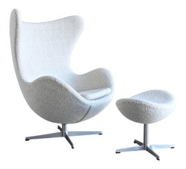 Image of Contemporary Chair and Ottoman Sets