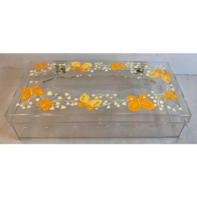 Beautiful tissue box cover By Wolfe Products, N.Y., N.Y..