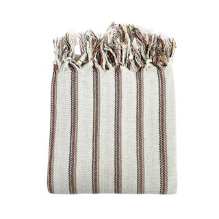 Dora Striped Handwoven Turkish Towel For Sale