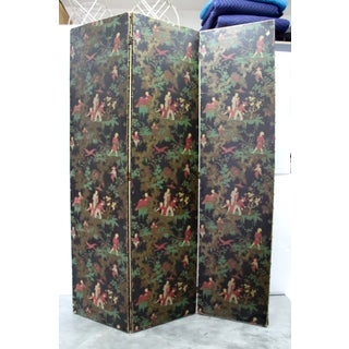 Antique Chinoiserie Folding Floor Screen Preview