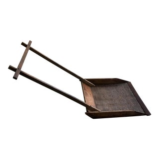 19th Century Antique Country Wood Snow Shovel For Sale
