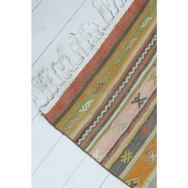 """Vintage Turkish Kilim Runner-2'8'x9'8"""" For Sale - Image 11 of 13"""