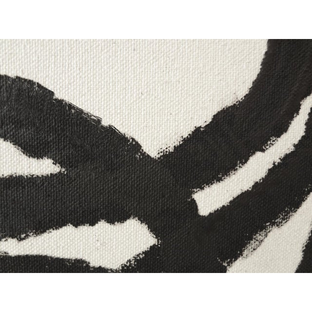 Abstract Squiggle No. 2 Acrylic on Canvas - Image 2 of 3