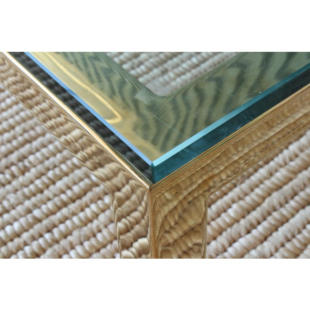 James Howell Brass Plated Coffee Table by James Howell, 1970s, USA For Sale - Image 4 of 11