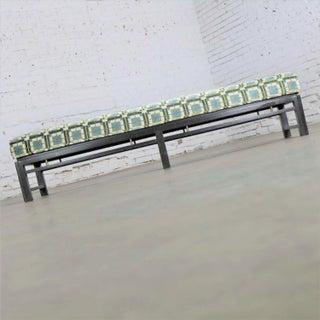 Edward Wormley for Dunbar Mid Century Modern Bench Newly Upholstered Preview