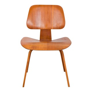 Eames Walnut Dcw Dining Chair Wood for Herman Miller For Sale