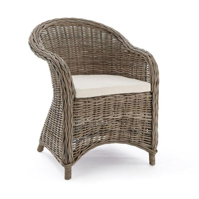 Kennith Ludwig Chicago Normandy Rattan Dining Chair For Sale In Chicago - Image 6 of 6