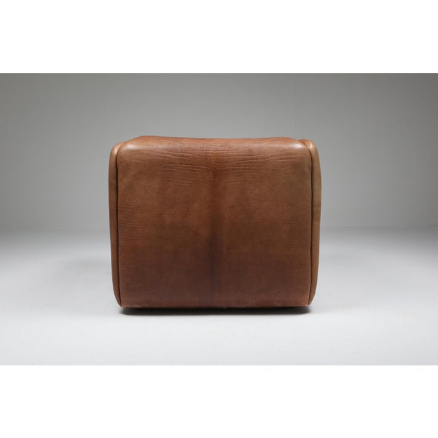 Brown 1970s De Sede Ds 47 Brown Leather Armchair For Sale - Image 8 of 10