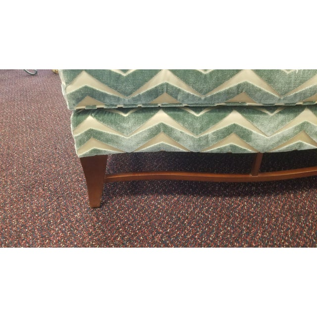 Classic Donghia Victoire Ottomans - a Pair For Sale - Image 11 of 13