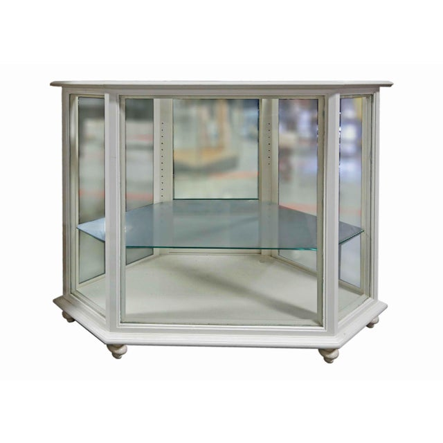 Display Case - Wood & Glass For Sale - Image 4 of 4