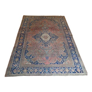 Antique Persian Sarouk Farahan Rug - 8′8″ × 10′7″