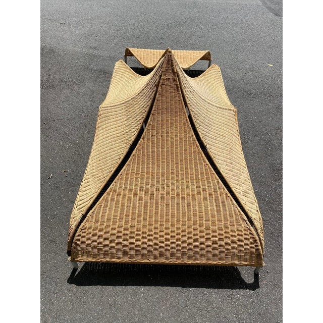 Architectural Rattan Canopy For Sale - Image 11 of 13