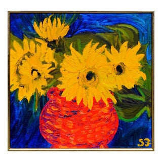 Sunflowers by Stan Fullerton For Sale