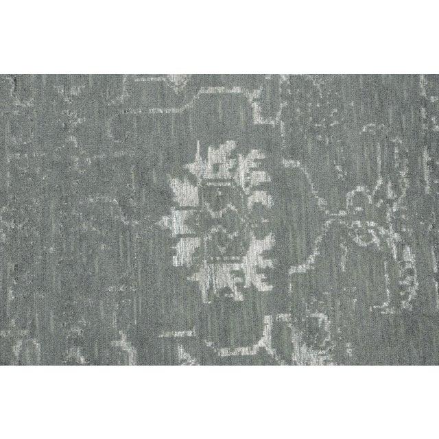Pasargad Silk & Wool Fusion Rug - 6′ × 9′ - Image 4 of 5