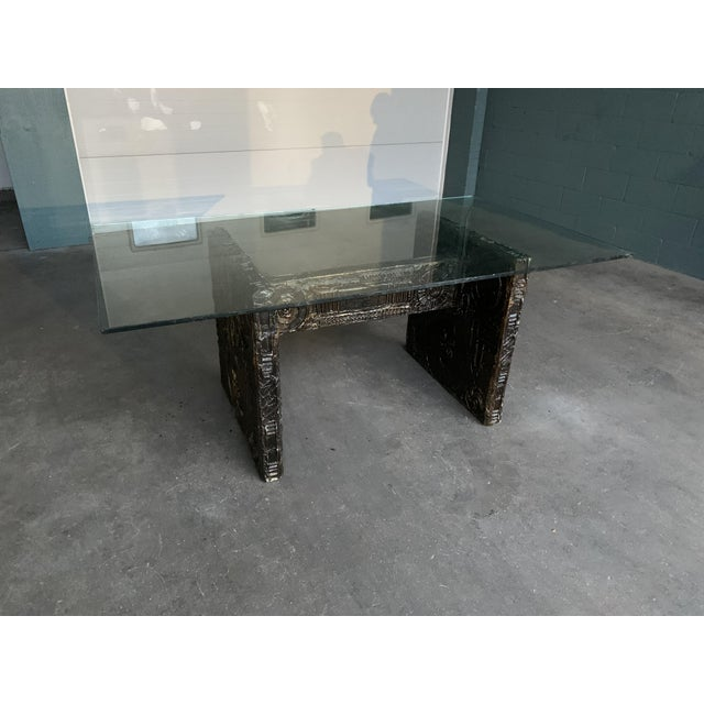 Brown Adrian Pearsall Brutalist Dining Table For Sale - Image 8 of 12