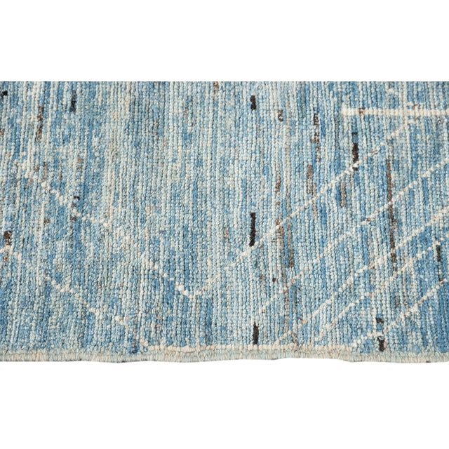 """21st Century Modern Moroccan-Style Rug, 7'0"""" X 10'0"""" For Sale - Image 9 of 11"""