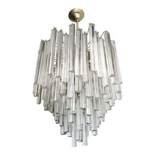 Tiered Chandelier by Venini For Sale